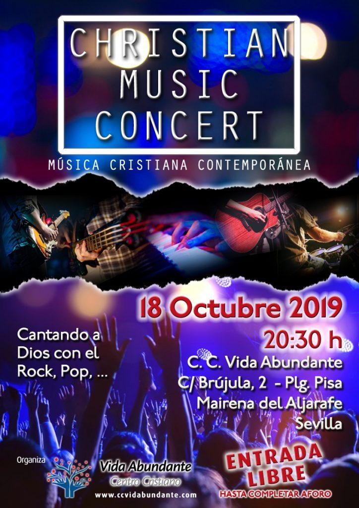 Christian Music Concert - Música Cristiana Contemporánea @ Centro Cristiano Vida Abundante