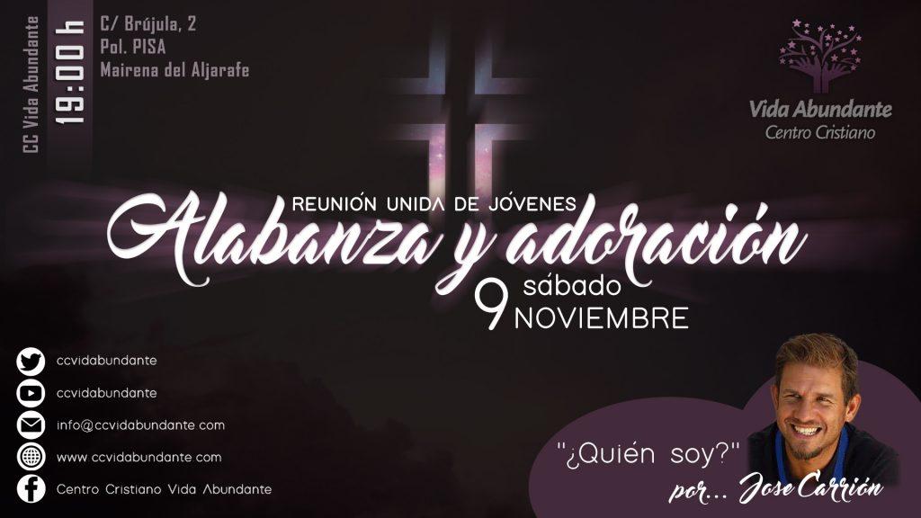 Reunión Unida de Jóvenes «Alabanza y Adoración» @ Centro Cristiano Vida Abundante